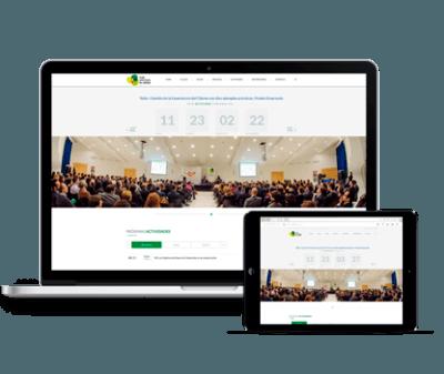 Previsualizacion de la web de club de calidad