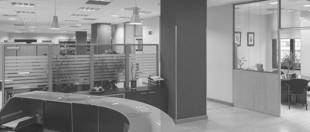 Imagen de la entrada de la oficina